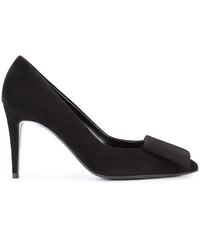Zapatos de tacón de ante negros de Pierre Hardy