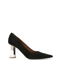 Zapatos de tacón de ante negros de Proenza Schouler