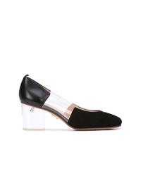 Zapatos de tacón de ante negros de Ritch Erani NYFC