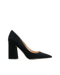 Zapatos de tacón de ante negros de Sam Edelman