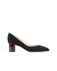 Zapatos de tacón de ante negros de Sarah Flint