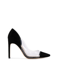 Zapatos de tacón de ante negros de Sophia Webster