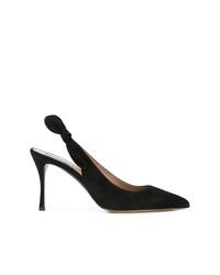 Zapatos de tacón de ante negros de Tabitha Simmons