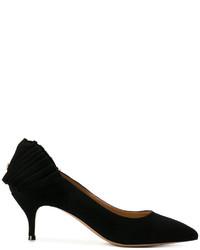 Zapatos de tacón de ante negros de Twin-Set