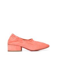 Zapatos de tacón de ante rosados de Marsèll