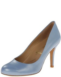 Zapatos de tacón de cuero celestes de Trotters