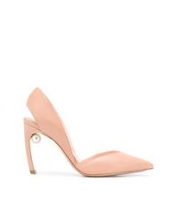 36348c53e367b Comprar unos zapatos de tacón de cuero rosados  elegir zapatos de ...