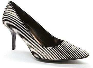 Resultado de imagen de zapatos de tacon de rayas