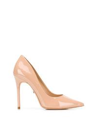 Zapatos de tacón de cuero en beige de Schutz