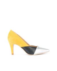 Zapatos de tacón de cuero en multicolor de GUILD PRIME