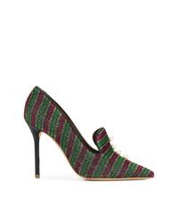Zapatos de tacón de cuero en multicolor de Malone Souliers