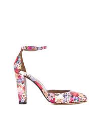 Zapatos de tacón de cuero en multicolor de Tabitha Simmons