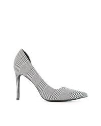 Zapatos de tacón de cuero grises de Senso