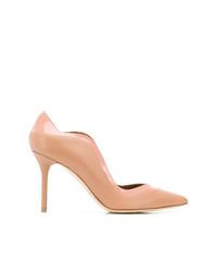 Zapatos de tacón de cuero marrón claro de Malone Souliers