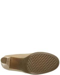Zapatos de Tacón de Cuero Marrónes de Aerosoles
