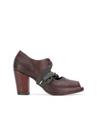 Zapatos de Tacón de Cuero Marrónes de Sartori Gold