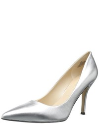 Zapatos de tacón de cuero mostaza