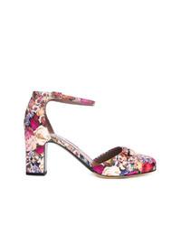 Zapatos de Tacón de Cuero Multicolor de Tabitha Simmons