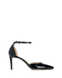 Zapatos de tacón de cuero negros de Antonio Barbato