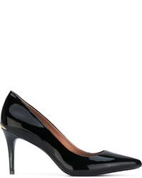 Zapatos de Tacón de Cuero Negros de Calvin Klein