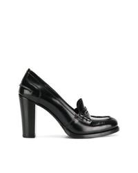 Zapatos de Tacón de Cuero Negros de Church's