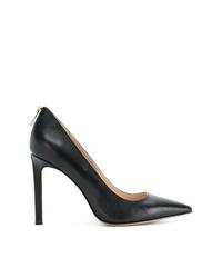 Zapatos de tacón de cuero negros de Diesel