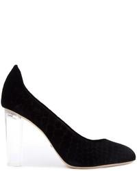 Zapatos de Tacón de Cuero Negros de Jerome Rousseau