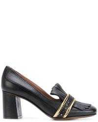 Zapatos de Tacón de Cuero Negros de L'Autre Chose