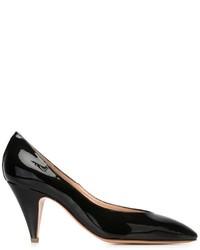 Zapatos de tacón de cuero negros de Mansur Gavriel