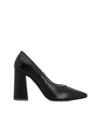 Zapatos de tacón de cuero negros de Rebecca Minkoff