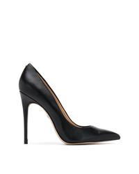 Zapatos de tacón de cuero negros de Sam Edelman