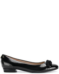Zapatos de Tacón de Cuero Negros de Twin-Set