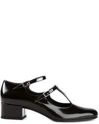 Zapatos de tacón de cuero