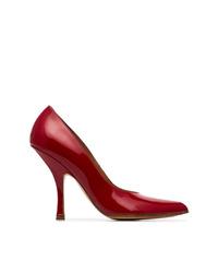 Zapatos de tacón de cuero rojos de Y/Project