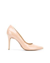Zapatos de tacón de cuero rosados de MICHAEL Michael Kors