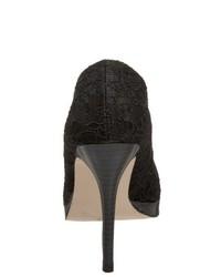 Zapatos de Tacón de Encaje Negros de Pleaser