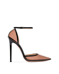 Zapatos de tacón de goma transparentes de Gianvito Rossi
