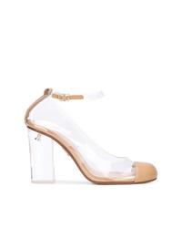 Zapatos de tacón de goma transparentes de Ritch Erani NYFC