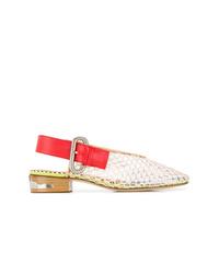Zapatos de tacón de goma transparentes de Toga Pulla