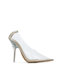Zapatos de tacón de goma transparentes de Yeezy