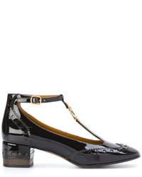 Zapatos de tacón en marrón oscuro de Chloé