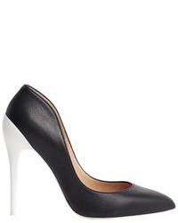 Zapatos de tacón en negro y blanco
