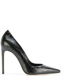 Zapatos de Tacón Marrón Oscuro de Dsquared2