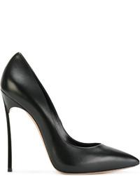 Zapatos de tacón negros de Casadei