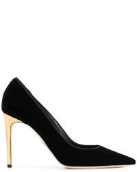 Zapatos de tacón negros de Dsquared2