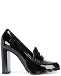 Zapatos de Tacón Negros de Saint Laurent