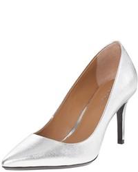 Zapatos de Tacón Plateados de Calvin Klein