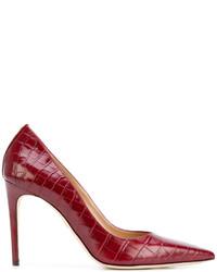 Zapatos de tacón rojos de Dsquared2