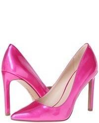Zapatos de tacón rosa