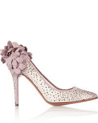 Zapatos de tacón rosados